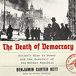 The Death of Democracy audiobook cover art