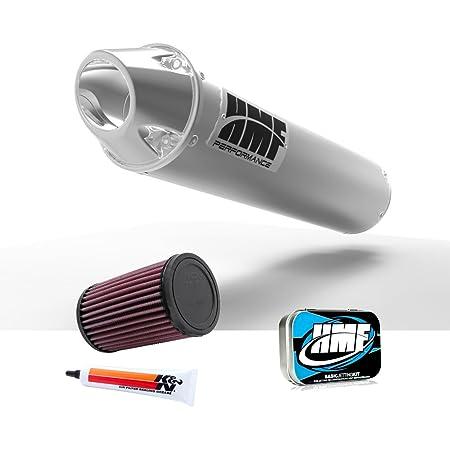 HMF Yamaha Grizzly 400 450 2007-2013 Slip On Exhaust Muffler /& Jet Kit