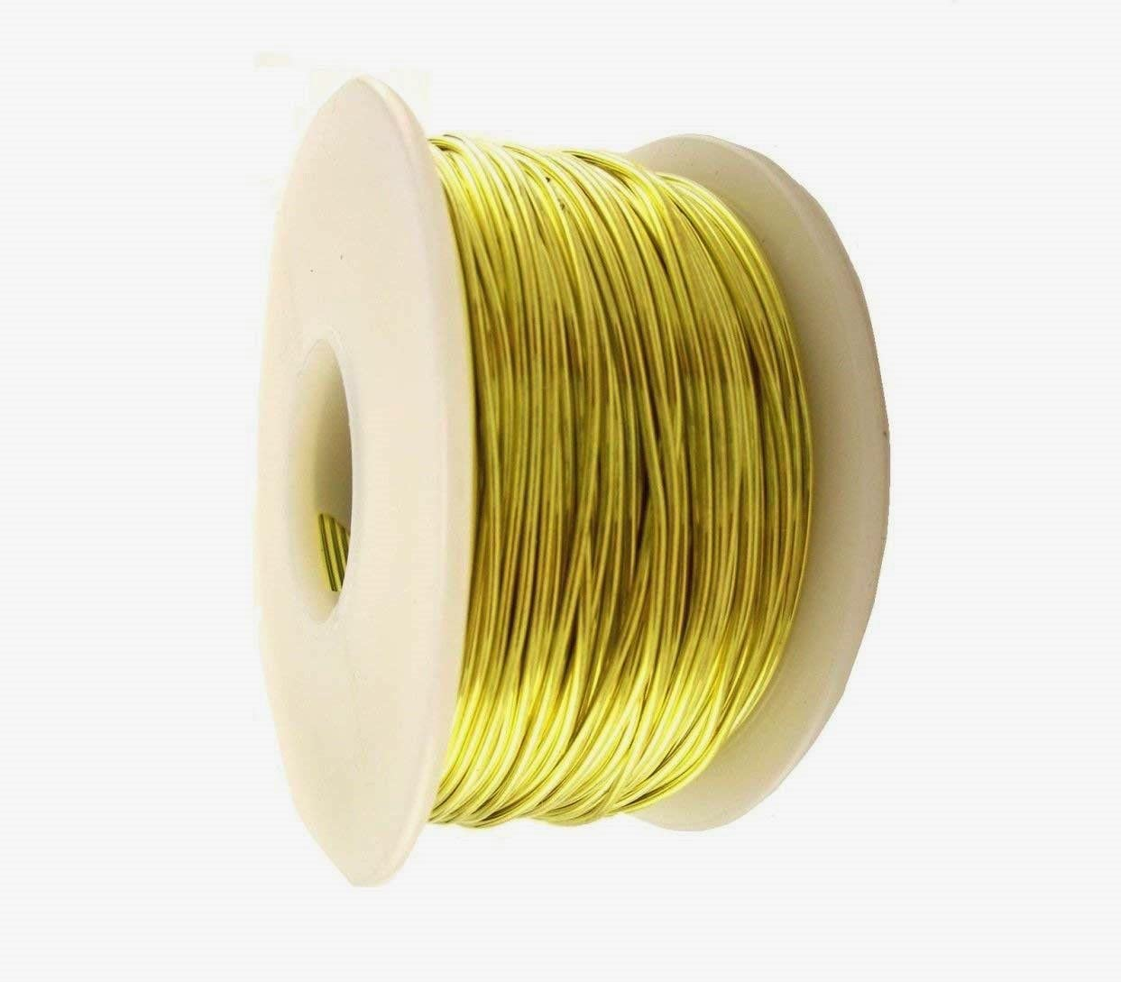 BRASS WIRE ROUND 22 Ranking TOP14 GAUGE SOFT 1 FT 480 Cheap Lb FINDING JEWELRY SPOOL
