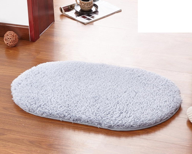 Door mats Bedroom Living Room Water-Absorbing mat Bathroom Kitchen Non-Slipping mat-B 100x200cm(39x79inch)