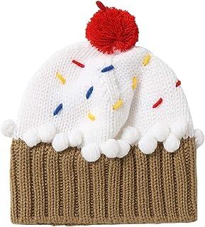 fa87bf1c Xinqiao Unisex Kids Cupcake Beanie Cartoon Knitting Hat for 3-8 Years Boys  Girls