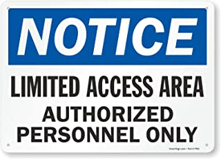 Best limited access area signs Reviews