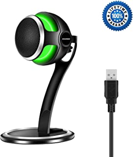 USB Computer Microphone,Aokeo Storm Professional Studio Condenser Games Microphone for Chatting/Skype/YouTube/Recording/Gaming/Podcasting for iMac PC Laptop MacBook Playstation �