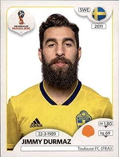 2018 Panini World Cup Stickers Russia #486 Jimmy Durmaz Sweden Soccer Sticker