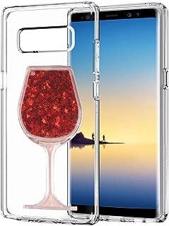 HTC Desire 626s Case, HTC Desire 626 Case,3D Handmade Glitter Wine Glass Goblet Design Clear Anti-scrtach Shockproof Acrylic + TPU Soft Bumper Case for HTC Desire 626(C00017)