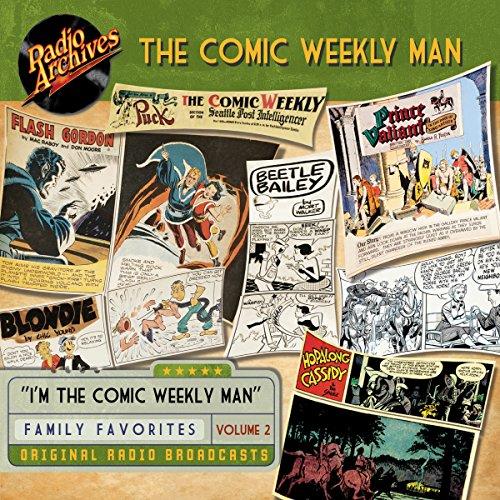 Couverture de Comic Weekly Man, Volume 2