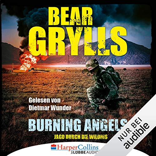 Burning Angels (German edition) cover art
