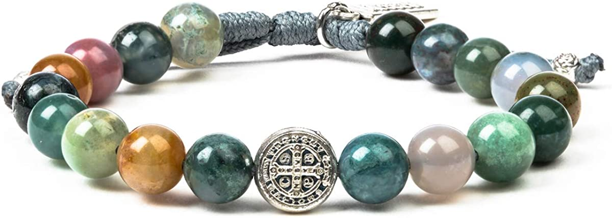 My Saint Hero Luck Power Bracelet Mixed Max 87% OFF - wit Agate Reservation Gemstones