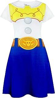 Traje del Vestido de Las señoras de Disney Pixar Toy Story Jessie de la Mujer