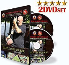 RUSSIAN MARTIAL ART SYSTEMA TRAINING 2 DVD SET - Instructional Martial Arts Videos of Street Self-Defense Training by Russian Spetsnaz, Russian Special Forces in Hand-To-Hand Combat