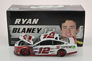 Lionel Racing, Ryan Blaney, Wabash National, 2019, Ford Mustang, NASCAR Diecast 1:24 Scale