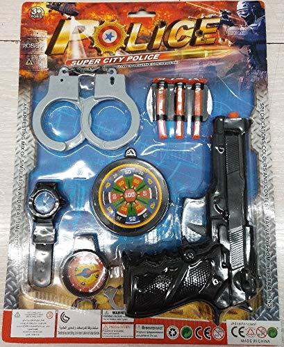 JuguetesFantasia.com Set POLICIA Pistola + Esposas