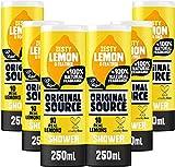 Fonte Shower Gel originale Limone e Tea Tree Confezione 250ml di 6