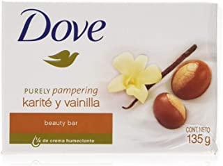 Dove Purely Pampering Beauty Bar Soap, Shea Butter - 135g / 4.76oz x 6 Pack