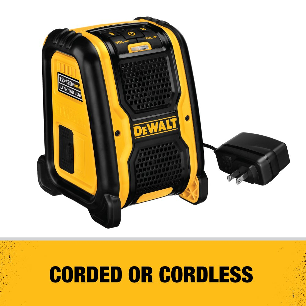 DEWALT DCR006 Jobsite Bluetooth Speaker by DEWALT: Amazon.es: Bricolaje y herramientas