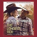 The Longest Ride audiobook cover art