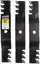 """MaxPower 561738XB Commercial Mulching 3-Blade Set for a 54"""" Cut.."""