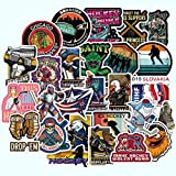 WANGPENG Field Hockey Sticker Waterproof For Luggage Suitcase Laptop Phone Motorcycle Styling Stickers 50 PCS/Set