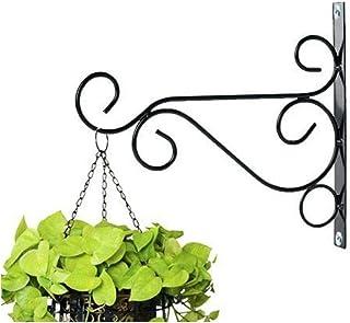 NAYAB Iron L Ring Bracket Wall Hanging Planter Hook Without Pot