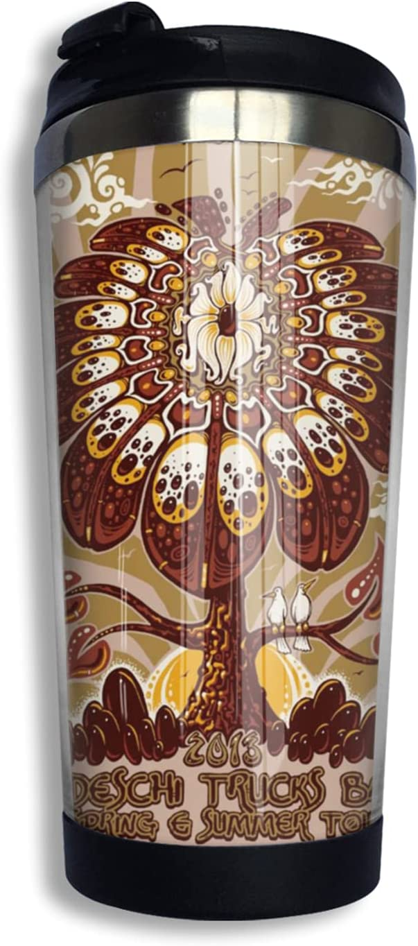 Tedeschi Trucks Band Direct sale of manufacturer Max 46% OFF Insulated Tumblers Travel Mug Coffee With L