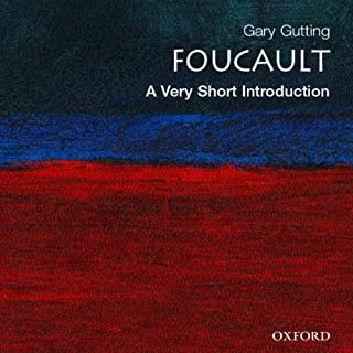 Foucault: A Very Short Introduction audiobook cover art