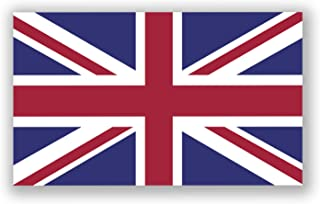 JMM Industries United Kingdom Flag Vinyl Decal Sticker UK Car Window Bumper 5-Inches by 3-Inches Premium Quality UV Resistant Laminate PDS032