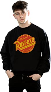 Disney Men's Cars Rust-Eze Logo Sweatshirt
