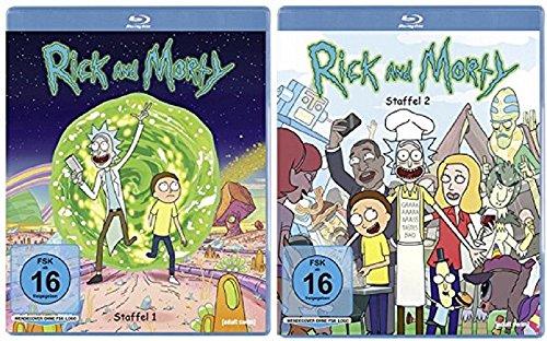 Rick & Morty Staffel 1+2 / Blu-ray Set