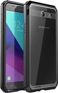 Samsung Galaxy J7 2017 Case, Galaxy Halo 2017, SUPCASE Unicorn Beetle Series Premium Hybrid Protective Clear Case for Galaxy Halo/J7 2017 (SM-J727), Not fit J7 2018 (SM-J737) (Black)