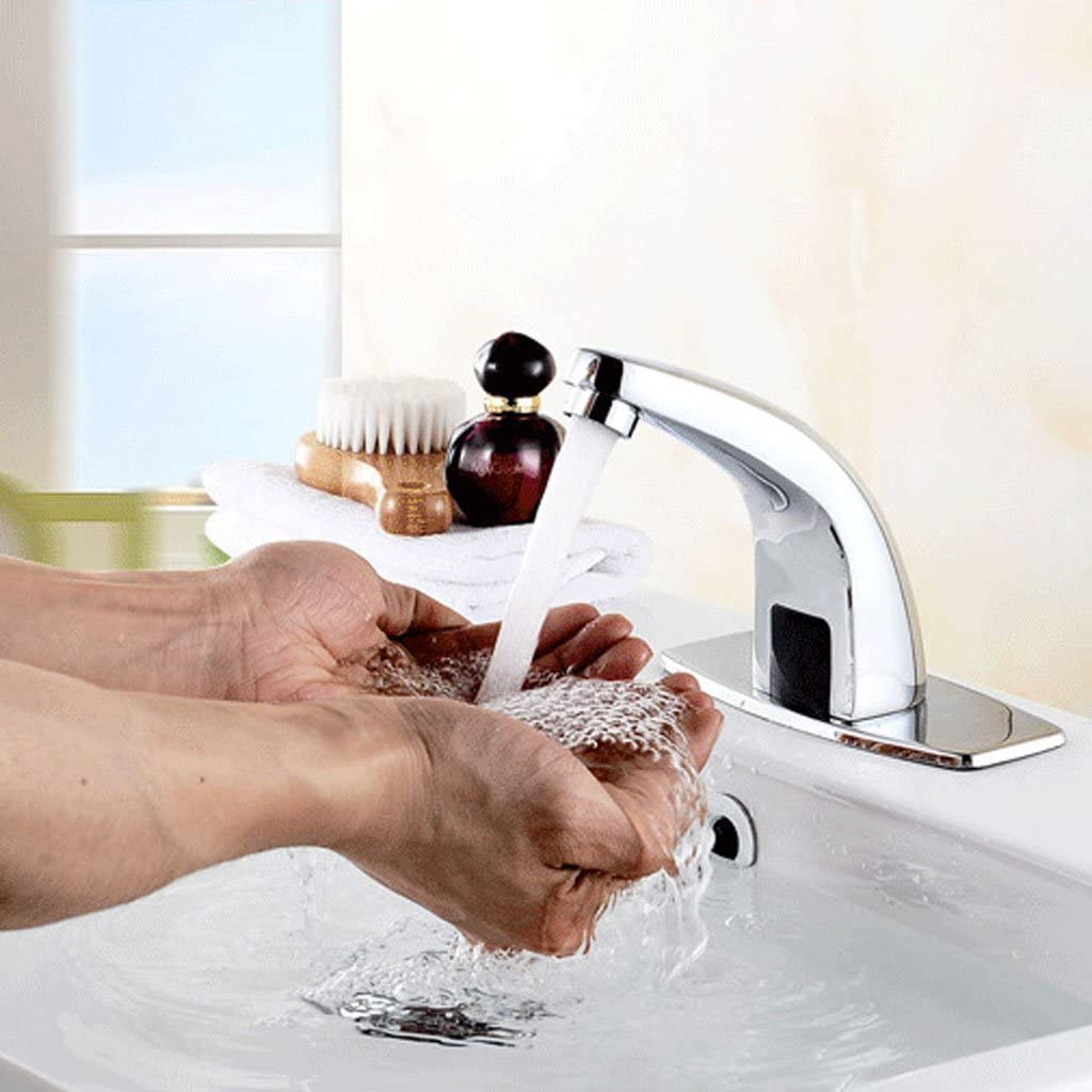 gift DYNWAVE Automatic Motion r Handsfree Bathroom Free shipping anywhere in the nation Touch-less Faucet