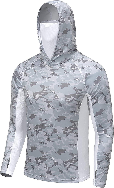BALEAF Men's Long Sleeve Hoodie Shirts Sun UPF Max New product! New type 87% OFF Protection 50+ Li