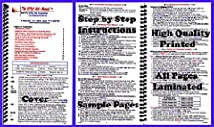 Condensed ham radio set-up and operating instruction manual simplifies radio operation Provides clear descriptions for all controls, setup menus and modes of operation Simple step-by-step instructions, augmented with useful hints and explanations Sma...