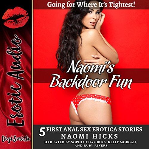 Naomi's Backdoor Fun audiobook cover art