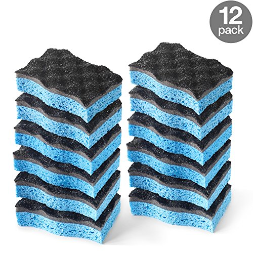 O-Cedar Heavy Duty Scrunge Scrub Sponge (Pack of 6)