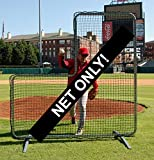 Trigon Sports Procage Pitcher's L-Screen Replacement Net, 7 x 7-Fet (No frame included)