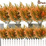 8PCS Artificial Flowers Outdoor ...