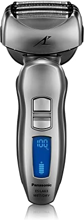 Panasonic ES-LA63-S Arc4 Men's Electric Razor, 4-Blade Cordless with Wet/Dry Shaver Convenience