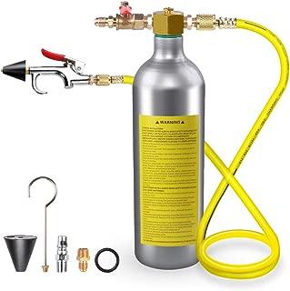 VI-CO A/C Flush Kit, Air Conditioner System Flush, Canister Gun Kit Clean Tool Set, AC Flushing Kit R134 R12 R22 R410 R404
