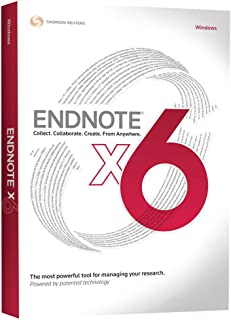 Thomson Reuters EndNote X6 - Upgrade