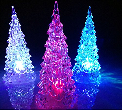 Best Lighted Christmas Tree Table Centerpieces