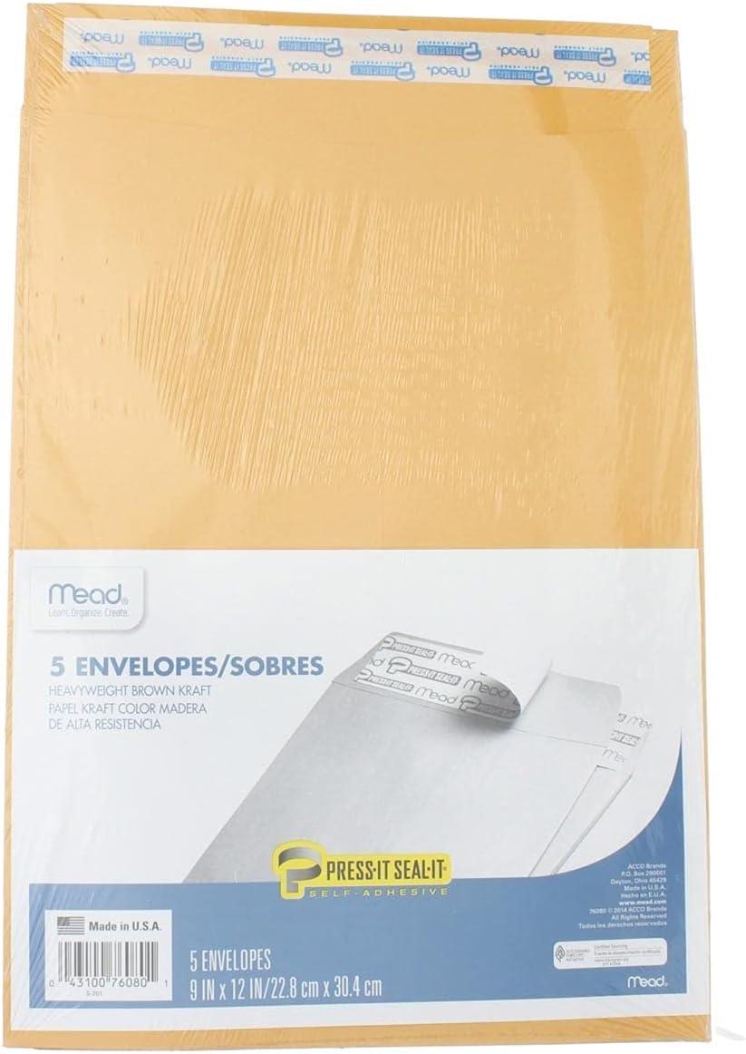 OFFicial store MEAD Press It-Seal-It MEA76080 Envelopes Time sale