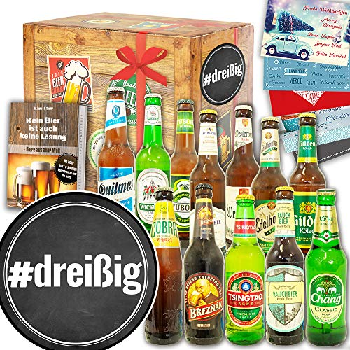 dreißig ++ Biere der Welt und DE ++ 30 iger Geburtstag Geschenke