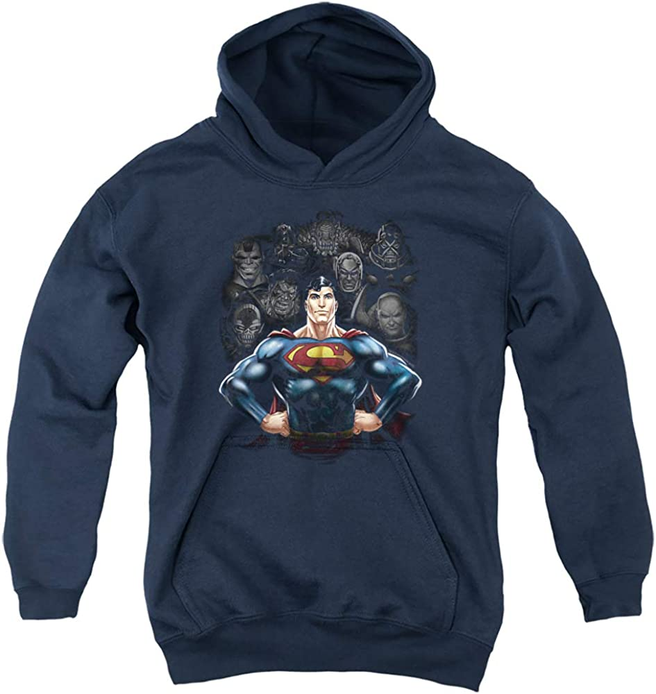 Superman Villains Special Campaign Unisex Youth Hoodie Pull-Over Gorgeous