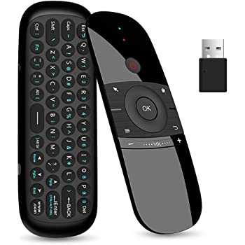 Upgrade 2.4G Wireless Air Remote Mouse W2 Smart TV Remote Control Wireless Keyboard for Android TV Box//PC//Smart TV//Projector//All-in-one PC