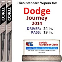 Best 2014 dodge journey wiper blade sizes Reviews