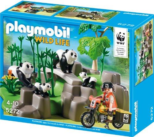 Playmobil 5272 - WWF-Pandaforscher im Bambuswald