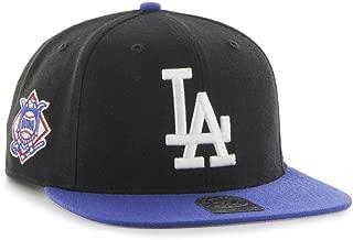 '47 Brand Los Angeles Dodgers Sureshot MLB Snapback Cap (Black/Royal Blue)