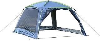 Outsunny Carpa Tipo Avancé Plegable para Camping Azul