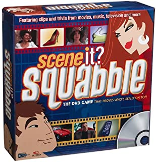 Scene It? Squabble The DVD Game That Proves Who's Really On Top