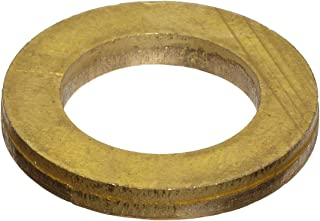 260 Brass Round Shim Pack of 10 Mill H02//H04 Temper 0.250 ID Finish 0.375 OD Unpolished ASTM B36 0.003 Thickness
